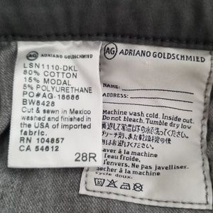 Ag Adriano Goldschmied Pants - Adriano Goldschmied AG the stilt cigarette